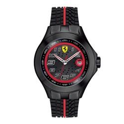 8edbe32f96a Relógio Scuderia Ferrari Masculino Borracha Preta - 830027