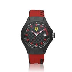 c33a22a11ef Relógio Scuderia Ferrari Masculino Borracha Vermelha - 830128