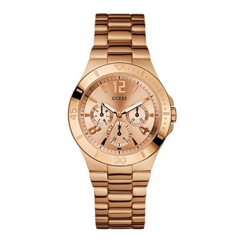c707effee5fdb Relógio Guess Feminino Aço Rosé - W14553L1