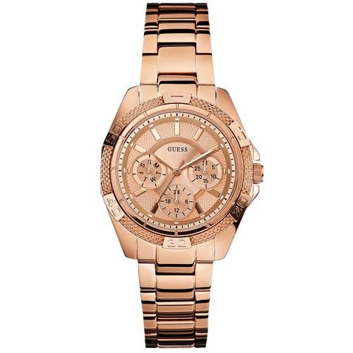 87c3264a3c84a Relógio Guess Feminino Aço Rosé - W0235L3