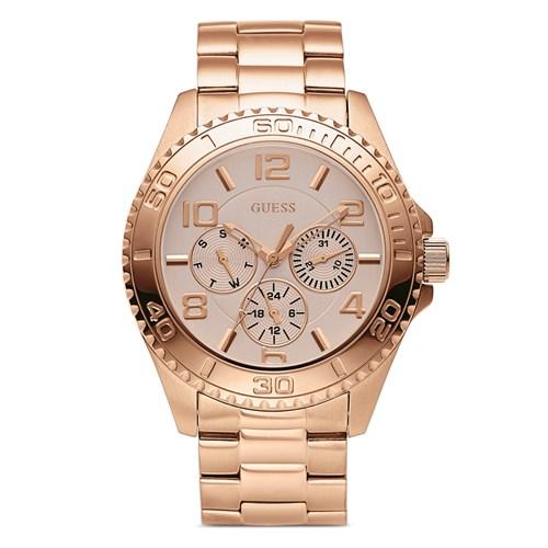 0a0097d30f1db Relógio Guess Feminino Aço Rosé - W0231L4