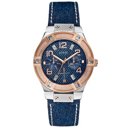 600cfa67d875e Relógio Guess Feminino Jeans - W0289L1