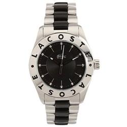 db218cd1e41 Relógio Lacoste Feminino Aço Preto e Prateado - 2000583