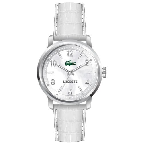 9c77be04b5c Relógio Lacoste Feminino Couro Branco - 2000631
