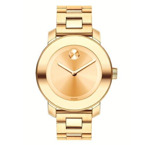 0c5d26ddbec Relógio Movado Feminino Aço Dourado - 3600085