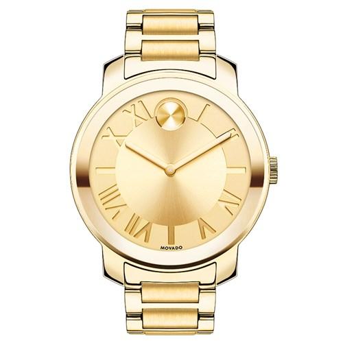 d019d86e3a6 Relógio Movado Feminino Aço Dourado - 3600197