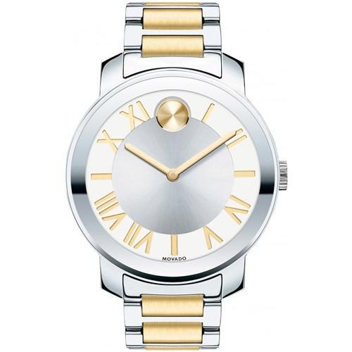 f64374cd452 Relógio Movado Feminino Aço Prateado e Dourado - 3600208