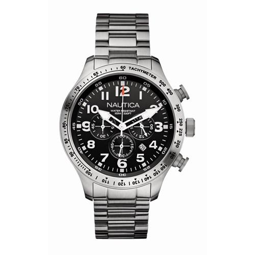 b2b38708d50 Relógio Nautica Masculino Aço - A18592G