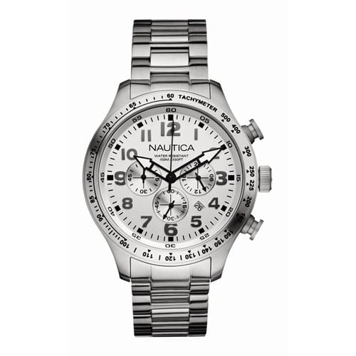 9535679c355 Relógio Nautica Masculino Aço - A18593G