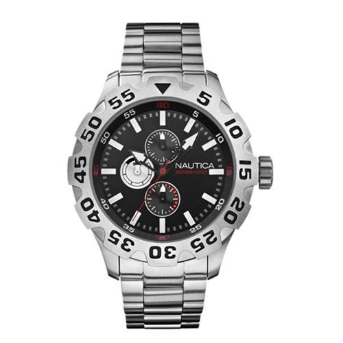 3aa3202863b Relógio Nautica Masculino Aço - A20092G