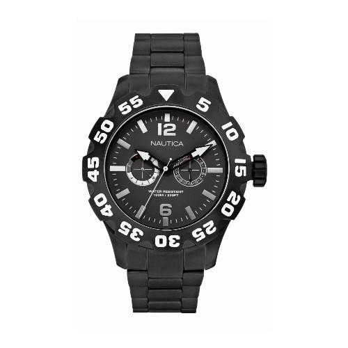3a500527aaf Relógio Nautica Masculino Resina Preta - A23099G