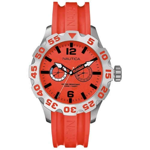303a7ebfbc5 Relógio Nautica Feminino Resina Vermelha - A16602G
