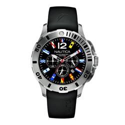 7507ed94c43 Relógio Nautica Masculino Resina Preta - A18636G