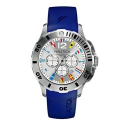 c9caa7b8c14 Relógio Nautica Masculino Resina Azul - A18640G