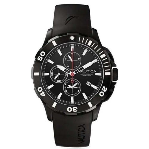 2228853a9c8 Relógio Nautica Masculino Resina Preta - A19585G