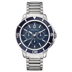 f8e0b1355a8 Relógio Nautica Masculino Aço - A19592G