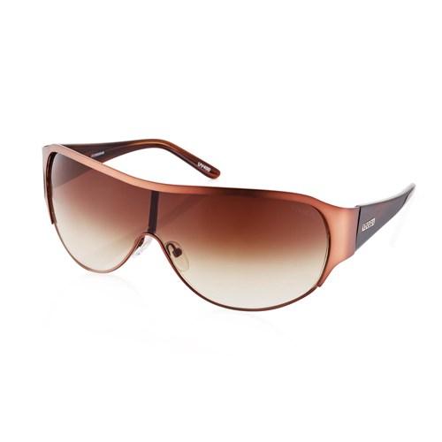 54e86f54bb3b0 Óculos de Sol Máscara em Acetato Azul
