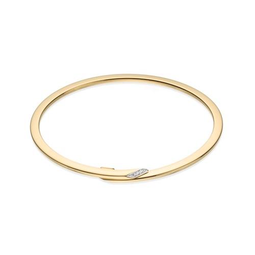 14a4bfb55b611 Pulseira Ouro Amarelo e Diamantes - Colecao Pulseira Ouro