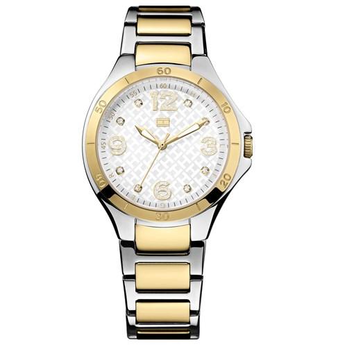 df572d5fe5a Relógio Tommy Hilfiger Feminino Aço Dourado e Prateado - 1781315