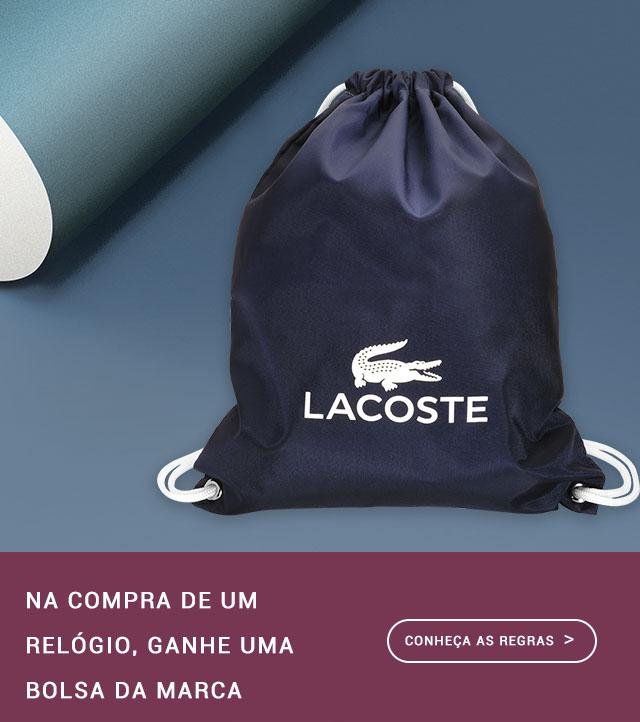 5a2468da538 Relógios Lacoste