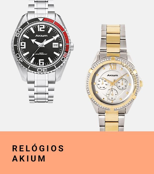 bd6622e78bc Relógios Akium